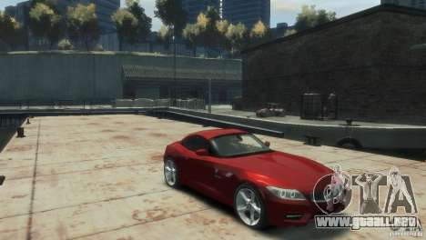BMW Z4 para GTA 4 visión correcta