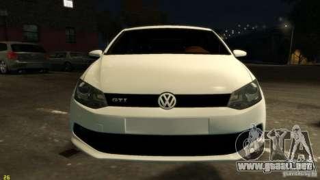 Volkswagen Polo v1.0 para GTA 4 vista interior