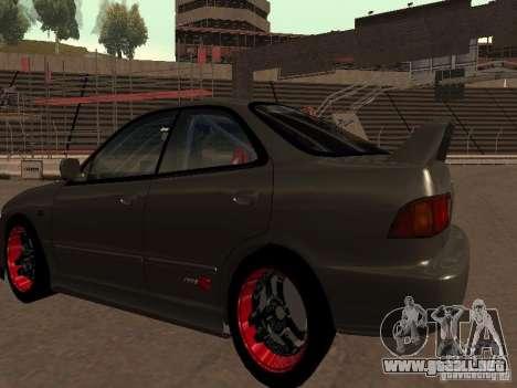 Honda Integra TypeR para la visión correcta GTA San Andreas
