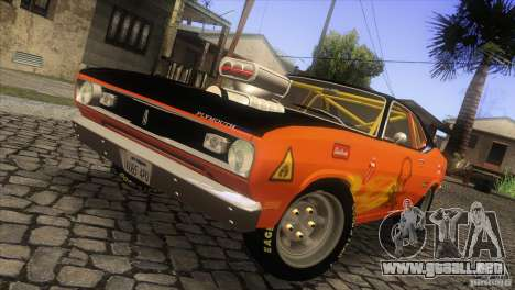 Plymouth Duster 440 para visión interna GTA San Andreas