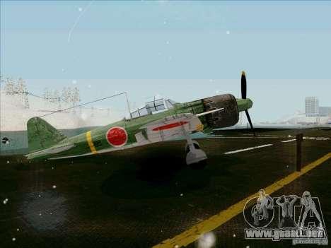 Avión japonés para la visión correcta GTA San Andreas