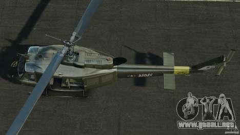 Bell UH-1 Iroquois para GTA 4 visión correcta