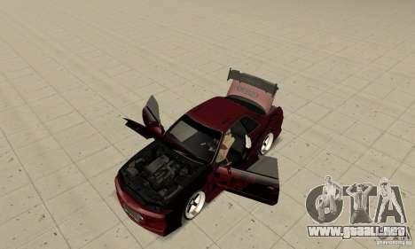 Nissan Skyline R32 Drift Edition para GTA San Andreas vista hacia atrás