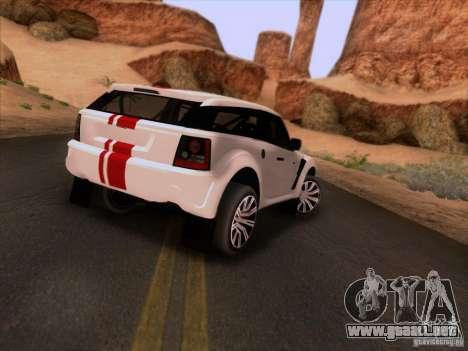 Bowler EXR S 2012 para la visión correcta GTA San Andreas