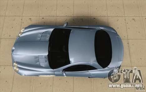 Mercedes-Benz SLR McLaren 2005 para la visión correcta GTA San Andreas