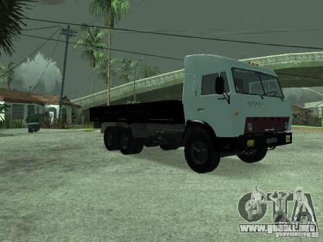 KAMAZ 5320 para la visión correcta GTA San Andreas