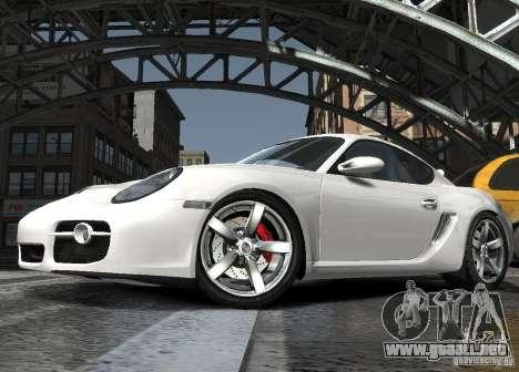 Porsche Cayman S1 para GTA 4 vista interior