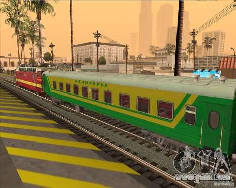 Coche de pasajeros no. 05808915 para GTA San Andreas