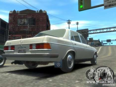 Mercedes-Benz 230E 1976 para GTA 4 left