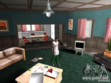 Atornille/Desatornille el silenciador para GTA San Andreas segunda pantalla