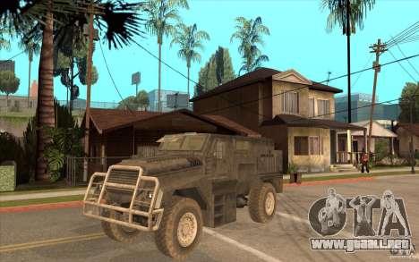 Military Truck para GTA San Andreas
