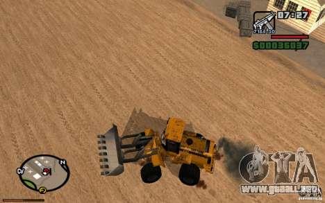 Tablero de instrumentos activos v3.2 (b) para GTA San Andreas tercera pantalla