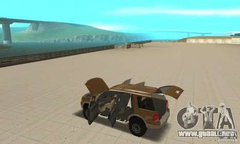Ford Explorer 2002 para la vista superior GTA San Andreas
