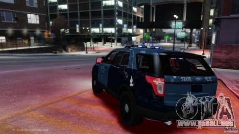 Emergency Lighting System v7 para GTA 4 adelante de pantalla