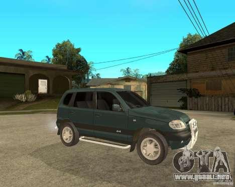 NIVA Chevrolet para la visión correcta GTA San Andreas