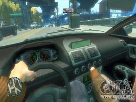 Tipo de coche para GTA 4 tercera pantalla