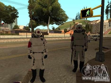 Cops from Half-life 2 para GTA San Andreas sucesivamente de pantalla