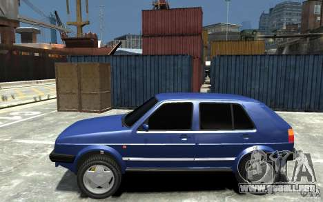Volkswagen Golf II Country 1990 para GTA 4 left