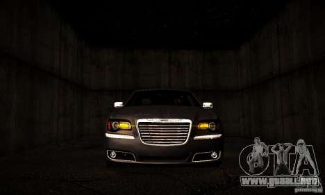 Chrysler 300c para visión interna GTA San Andreas