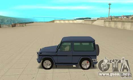 Mercedes-Benz G500 1999 Short [with kangoo v2] para GTA San Andreas left