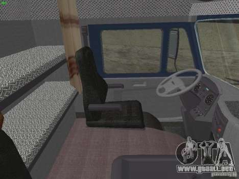 KAMAZ 5460 Sport para GTA San Andreas vista hacia atrás