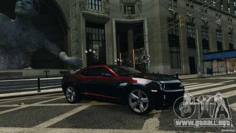 Chevrolet Camaro ZL1 2012 para GTA 4 visión correcta