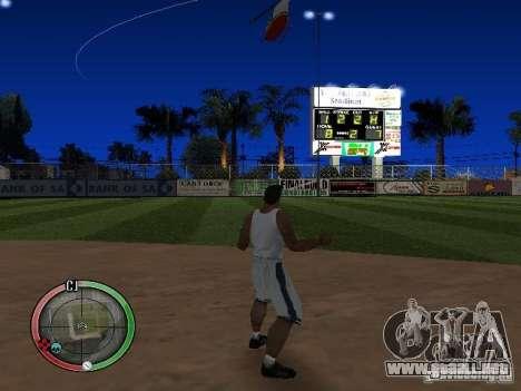 RAIN OF BOXES para GTA San Andreas segunda pantalla