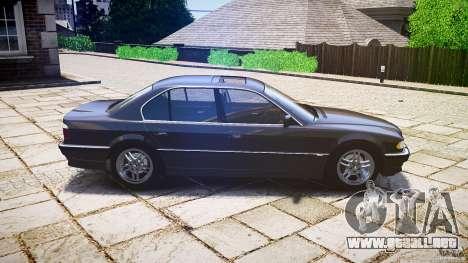 BMW 740i (E38) style 37 para GTA 4 left