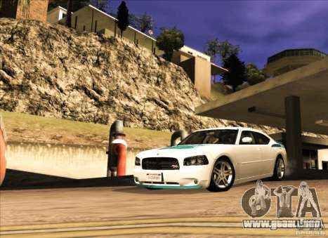 Dodge Charger R/T Daytona para GTA San Andreas left