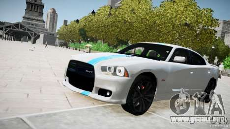 Dodge Charger SRT8 2012 para GTA 4