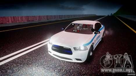 Dodge Charger NYPD 2012 [ELS] para GTA 4 vista desde abajo