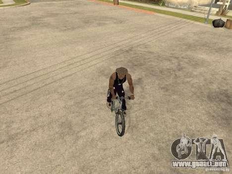 Ocultar-conseguir armas en el coche para GTA San Andreas sexta pantalla