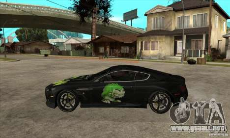 Aston Martin DB9 NFS PS Tuning para GTA San Andreas left