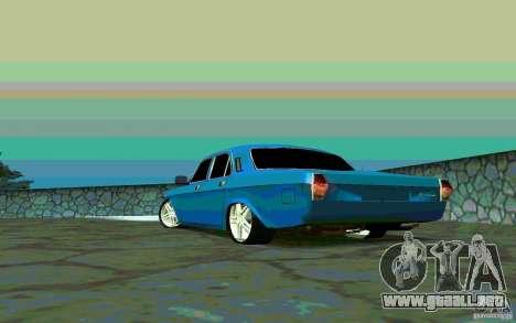 GAS 24 v 1.0 para GTA San Andreas vista posterior izquierda