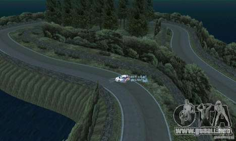 La ruta del rally para GTA San Andreas séptima pantalla