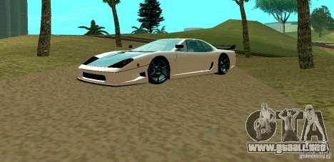 New Turismo para GTA San Andreas left