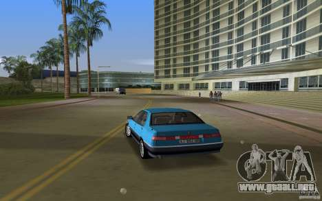 Alfa Romeo 164 para GTA Vice City left