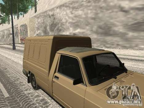 IZH 27175 Winter Edition para GTA San Andreas vista posterior izquierda