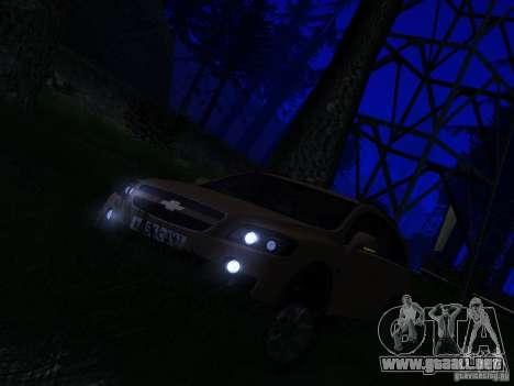 Chevrolet Captiva para la visión correcta GTA San Andreas