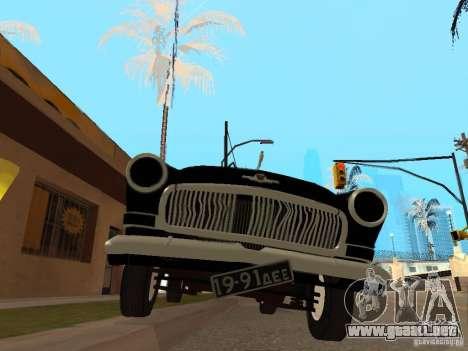 Volga 21 para GTA San Andreas vista hacia atrás