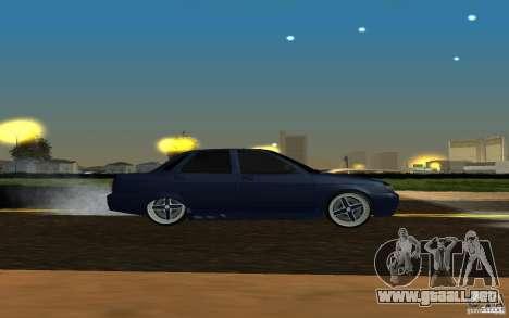 LADA PRIORA coches tuning para GTA San Andreas vista posterior izquierda