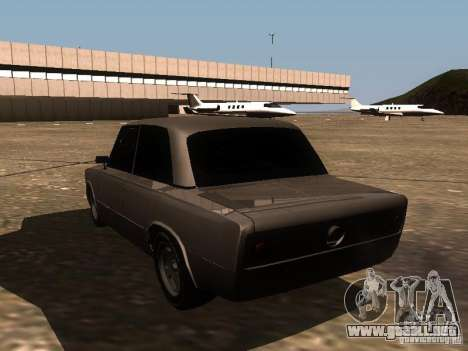 VAZ 2106 Drag Racing para GTA San Andreas vista posterior izquierda
