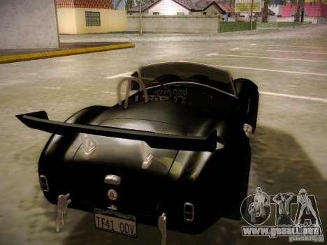 Shelby Cobra 427 para GTA San Andreas interior