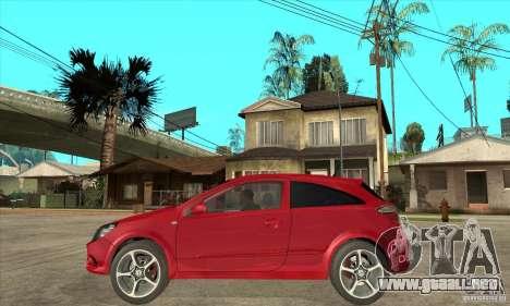 Opel Astra para GTA San Andreas left