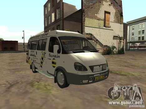 Gacela 32213 Beeline para la visión correcta GTA San Andreas