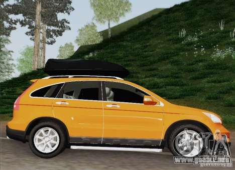 Honda CRV 2011 para GTA San Andreas vista posterior izquierda