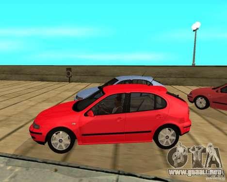 Seat Leon 1.9 TDI para GTA San Andreas left