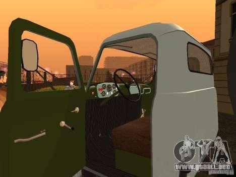 GAZ 53 Flusher para GTA San Andreas vista hacia atrás