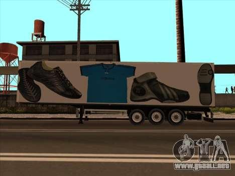 Remolque Adidas para GTA San Andreas left