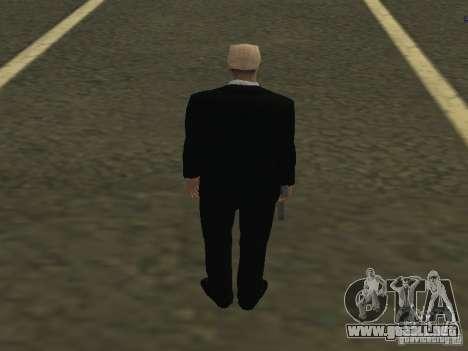 Los guardaespaldas para GTA San Andreas segunda pantalla
